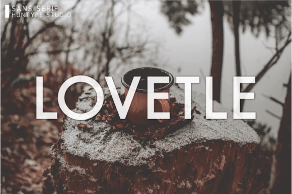 Print on Demand: Lovetle Sans Serif Font By Huntype
