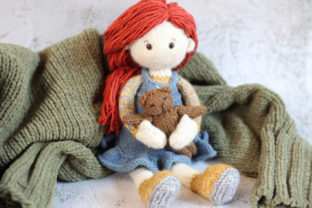 My Candy Doll Jane (PDF Knitting Pattern Graphic Knitting Patterns By Cheryx