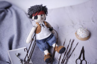 My One Eyed Pirate Jackie Graphic Knitting Patterns By Cheryx