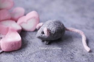 My Tiny Mouse Graphic Knitting Patterns By Cheryx