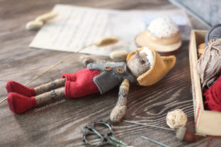 My Wooden Doll Pinocchio Graphic Knitting Patterns By Cheryx