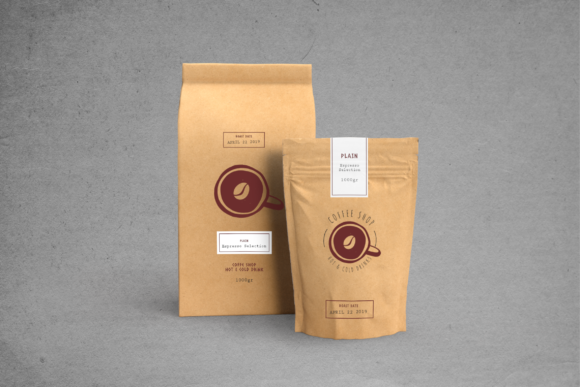 Print on Demand: Packaging Template Graphic Print Templates By uicreativenet