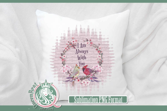 Print on Demand: Sublimation | Always with You Graphic Illustrations By QueenBrat Digital Designs