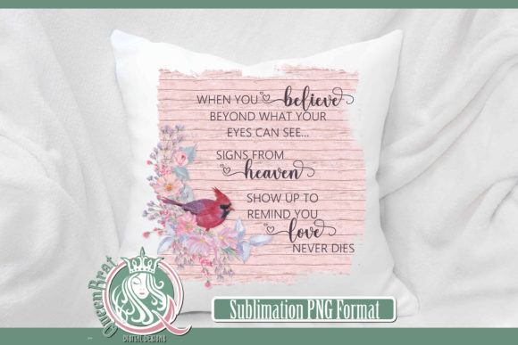 Print on Demand: Sublimation | Love Never Dies Graphic Illustrations By QueenBrat Digital Designs