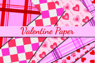 Print on Demand: Valentine Paper Graphic Patterns By Mahesa Design