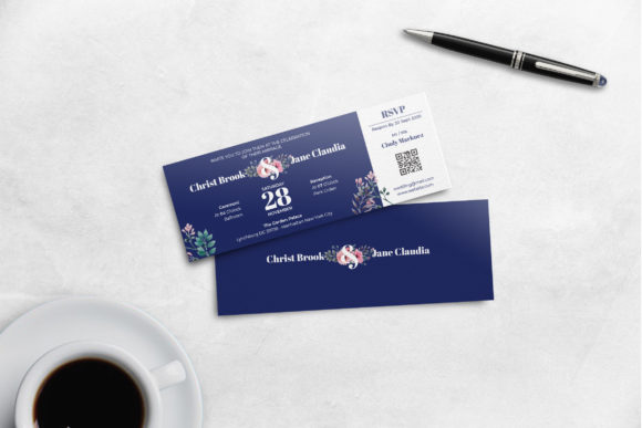 Print on Demand: A Boarding Pass Graphic Print Templates By uicreativenet