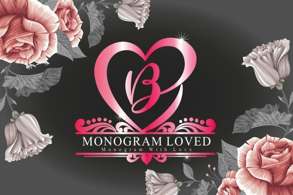 Monogram Loved Font