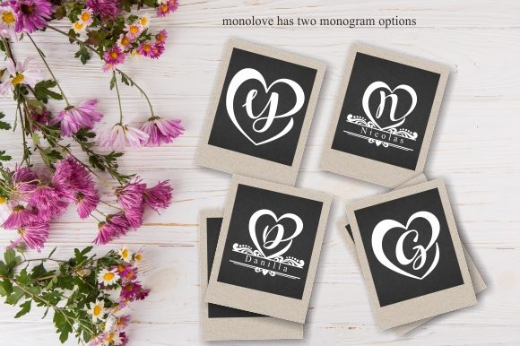Monogram Loved Font Download