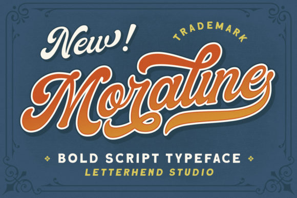 Print on Demand: Moraline Script & Handwritten Font By letterhend