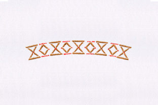 Xs and Os Quilting Design Bedroom Embroidery Design By DigitEMB