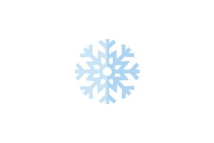Snowflake Graphic Icons By SyntaxArt Studio