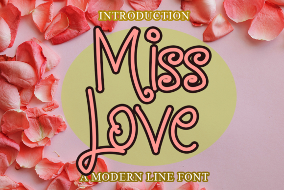 Print on Demand: Miss Love Script & Handwritten Font By merge354