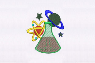 Models and Potion Design School & Education Embroidery Design By DigitEMB