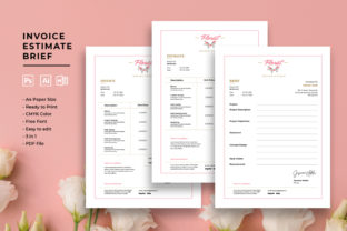 Print on Demand: Professional Invoice Templates Graphic Print Templates By uicreativenet