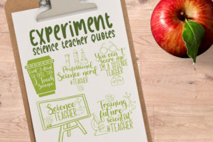 Science Teacher Quotes Graphic Crafts By Firefly Designs