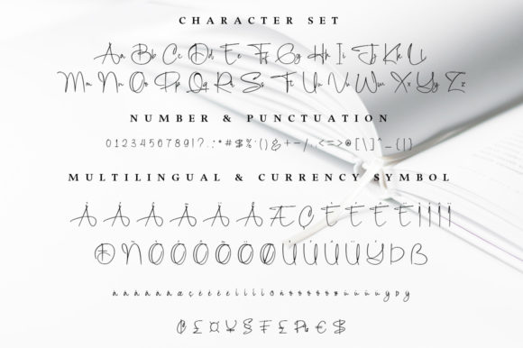 The Bechara Font Downloadable Digital File