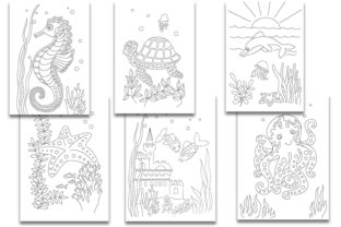 Underwater Life. Coloring Pages for Kids - 2