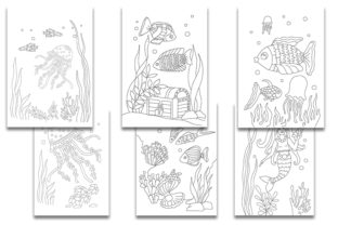 Underwater Life. Coloring Pages for Kids - 3