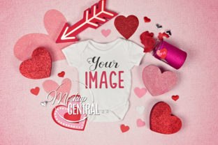 Valentine Onepiece Bodysuit Mockup Graphic Product Mockups By Mockup Central