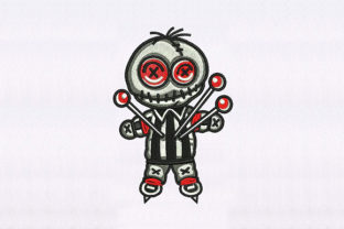 Voodoo Doll Toys & Games Embroidery Design By DigitEMB