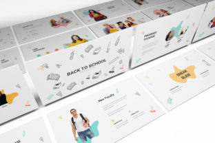 Back to School Powerpoint Template Graphic Presentation Templates By formatikastd