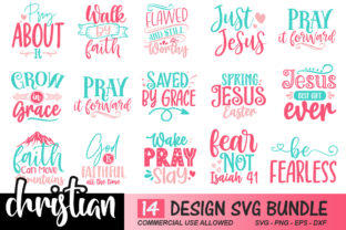 Christian Bundle Graphic Print Templates By Craftingstudio