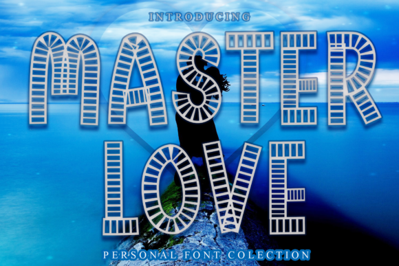Print on Demand: Master Love Display Font By dazzlinggleam