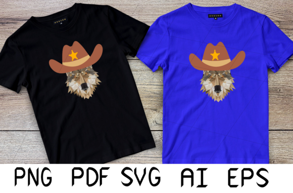 Print on Demand: Wolf Cowboy Graphic Crafts By Digital Creations