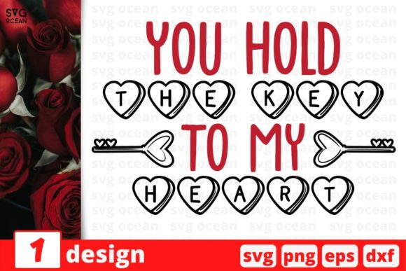 You Hold the Key to My Heart Graphic Crafts By SvgOcean