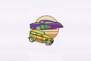 Die Cast Toy Cars Design Toys & Games Embroidery Design By DigitEMB