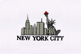 New York City Design Europe Embroidery Design By DigitEMB