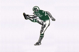 Young Football Player Design Africa Embroidery Design By DigitEMB