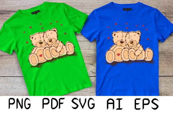 Print on Demand: Valentine's Bear Graphic Crafts By Digital Creations