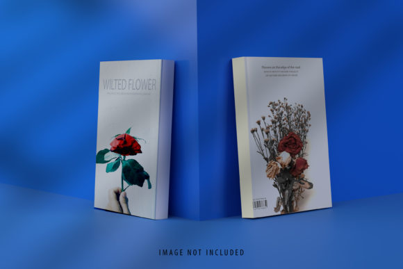 Cover Book Mockup Graphic Product Mockups By gilangkenter