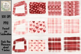 12 Pack of Sublimation Backgrounds Graphic Backgrounds By You Make It Personal