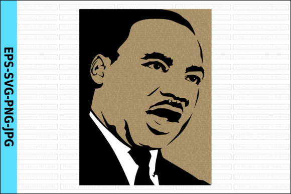 Print on Demand: Martin Luther King Jr Dream Speech Graphic Illustrations By TGT Designs