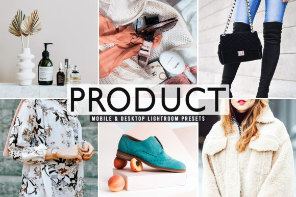 Print on Demand: Product Pro Lightroom Presets Graphic Actions & Presets By Creative Tacos