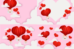 Valentine Day Background Graphic Illustrations By PurMoon