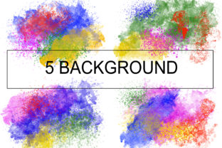 Watercolor Background Graphic Illustrations By PurMoon