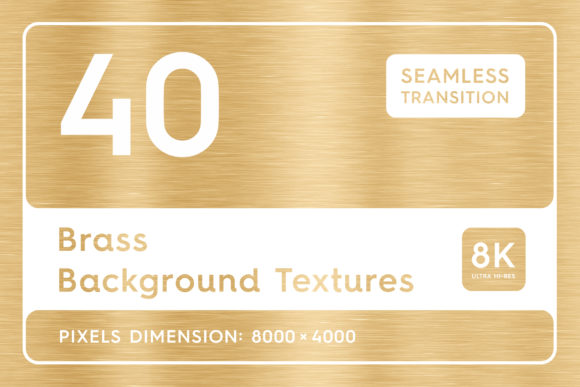 40 Brass Background Textures Graphic