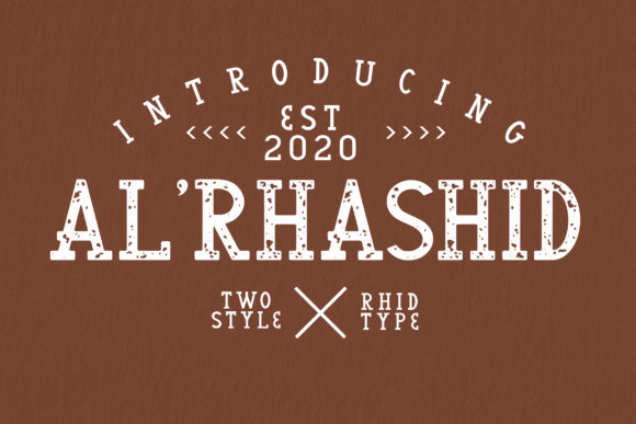 Print on Demand: Al'Rhasid Display Font By RHIDTYPE