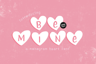Print on Demand: Be Mine Decorative Font By dixietypeco