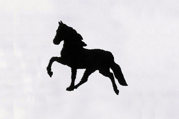 Black Horse Horses Embroidery Design By DigitEMB