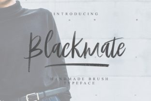 Print on Demand: Blackmate Script & Handwritten Font By BonjourType