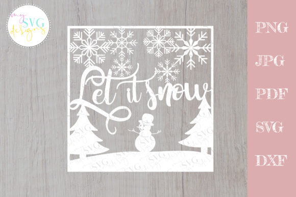 Christmas Svg, Christmas Card Svg Graphic Crafts By MySVGDesigns