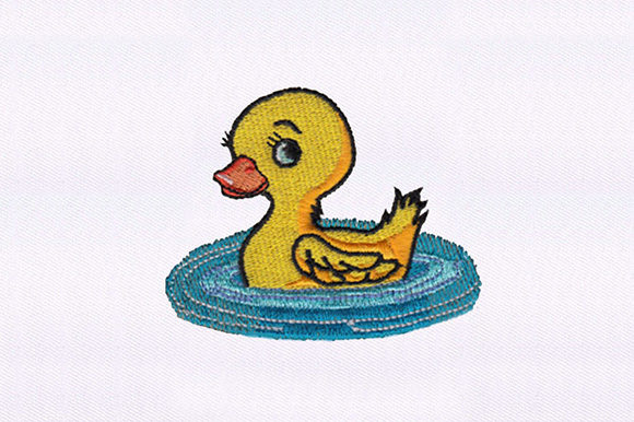 Cute Duckling Birds Embroidery Design By DigitEMB