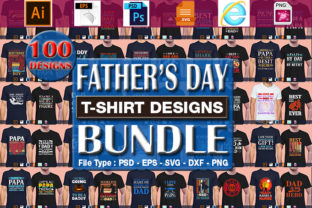 Print on Demand: Father's Day, Papa, Dad, Daddy Designs Graphic Print Templates By CraftStudio