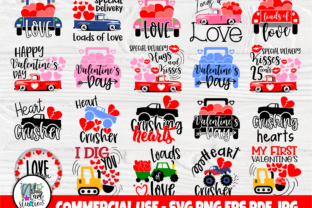 Print on Demand: Funny Valentines Quotes, Svg Cut Files Graphic Crafts By nibaartstudio