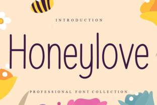 Print on Demand: Honeylove Sans Serif Font By W26Green