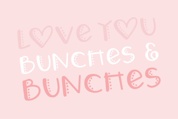 Love Letters Font Preview